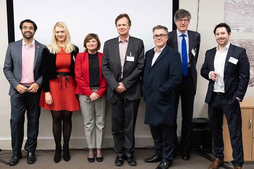 photo of all the speakers at truedil london event